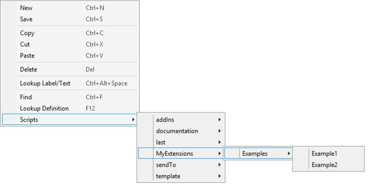 X++-Editor Example